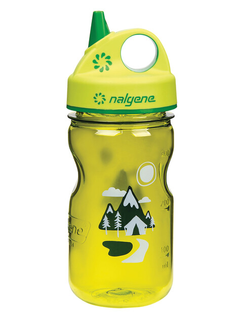 Nalgene Everyday Grip-n-Gulp Trinkflasche 350ml gelb trail